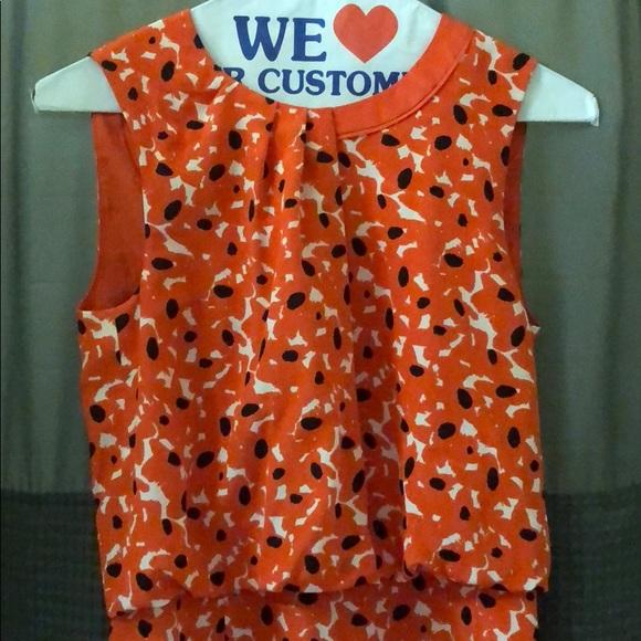91ff97fd9c17 Hugo Boss Dresses   Skirts - Hugo Boss Orange